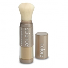 Colorescience Loose Mineral Foundation Powder Brush SPF 20 All Even